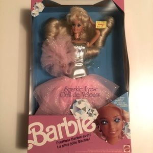 1991 Sparkle Eyes Barbie